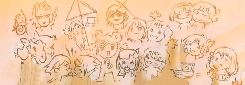 Best group drawing evar.