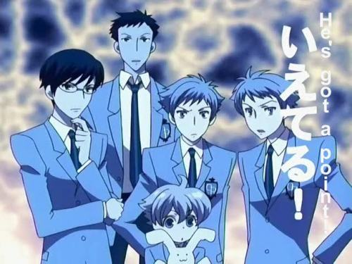 The Ouran group follows my train of thought