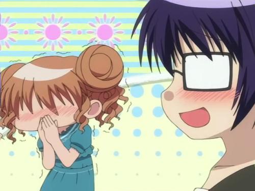 Obviously Hiro liked my pants joke. Kinda like Kotomi in Talk-A-Raptor.