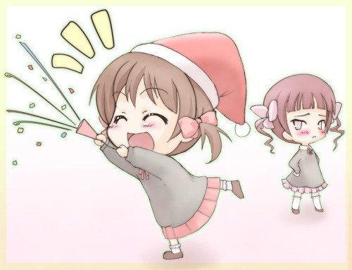 Touko should be more open with her holiday cheer.