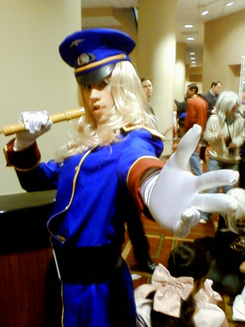 Only Sheryl cosplayer I saw. I think there is more to this one than meets the eye.