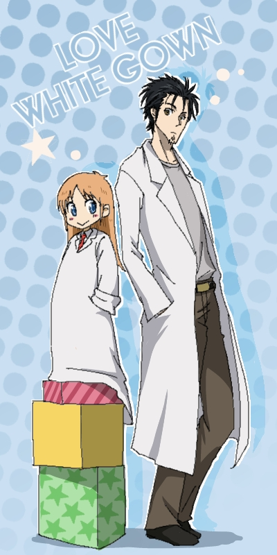 I do approve of the mad scientist hands in pockets pose. I try to do that as much as I can.