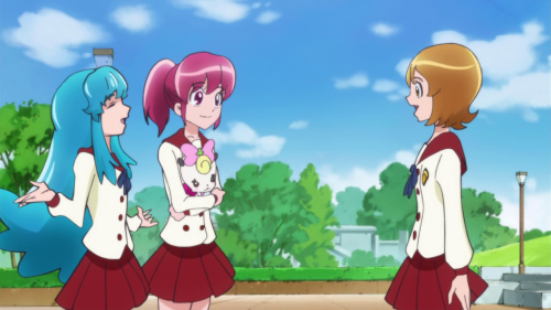 A little off, especially Ribbon being held by Megumi.